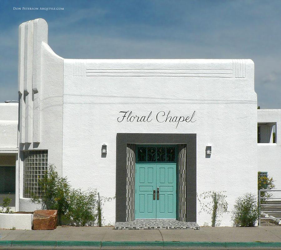 Floral Chapel, 3rd Street, Albuquerque, New Mexico