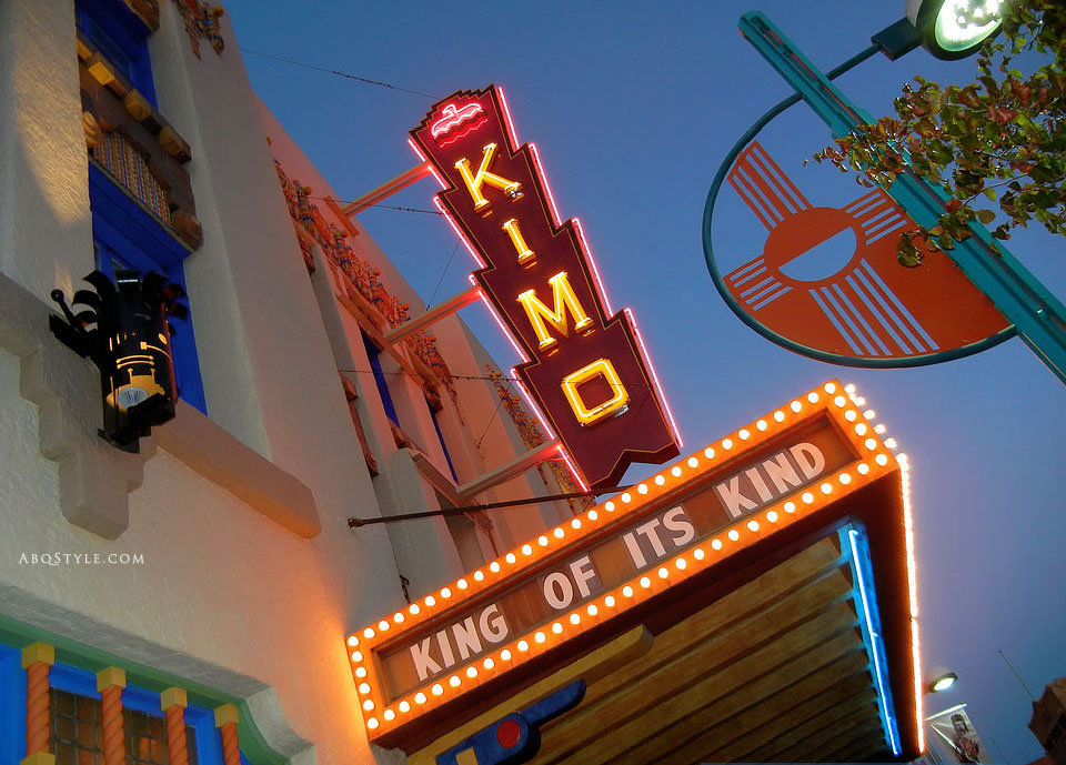 Kimo Theater, Route 66, Albuquerque, New Mexico
