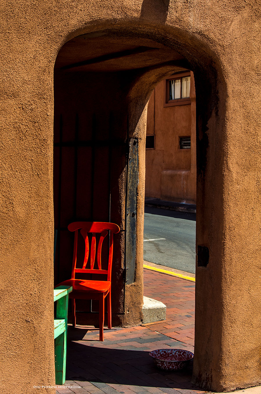 Downtown, Santa Fe, New Mexico