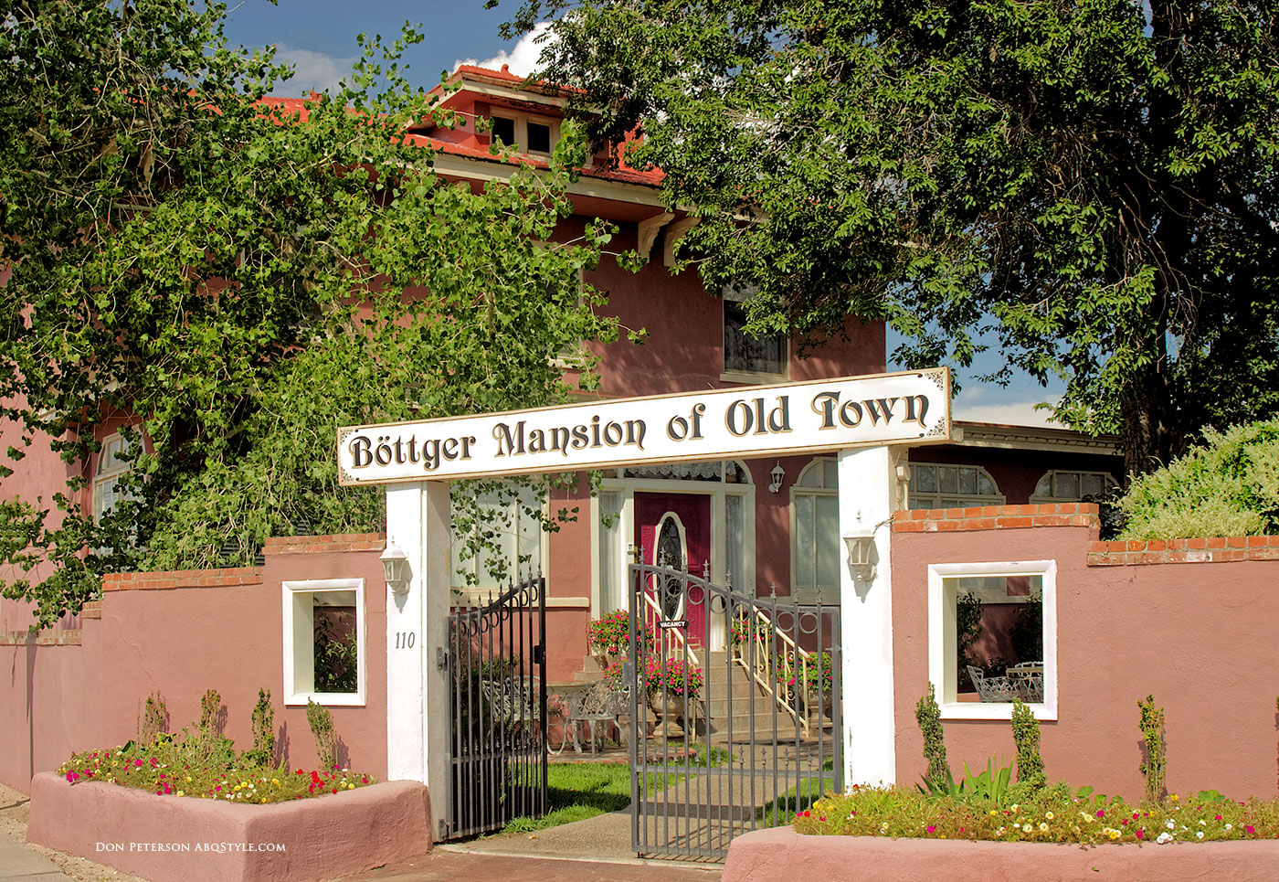 Bottger Mansion, Old Town Albuquerque