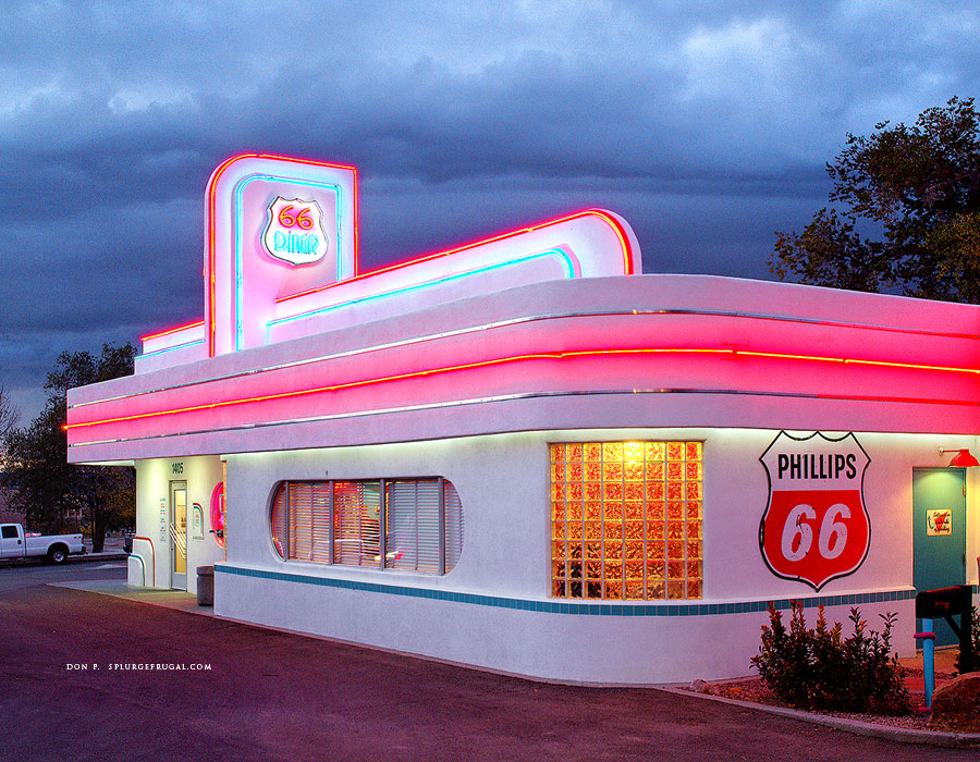 66 Diner, Albuquerque, NM, Route 66