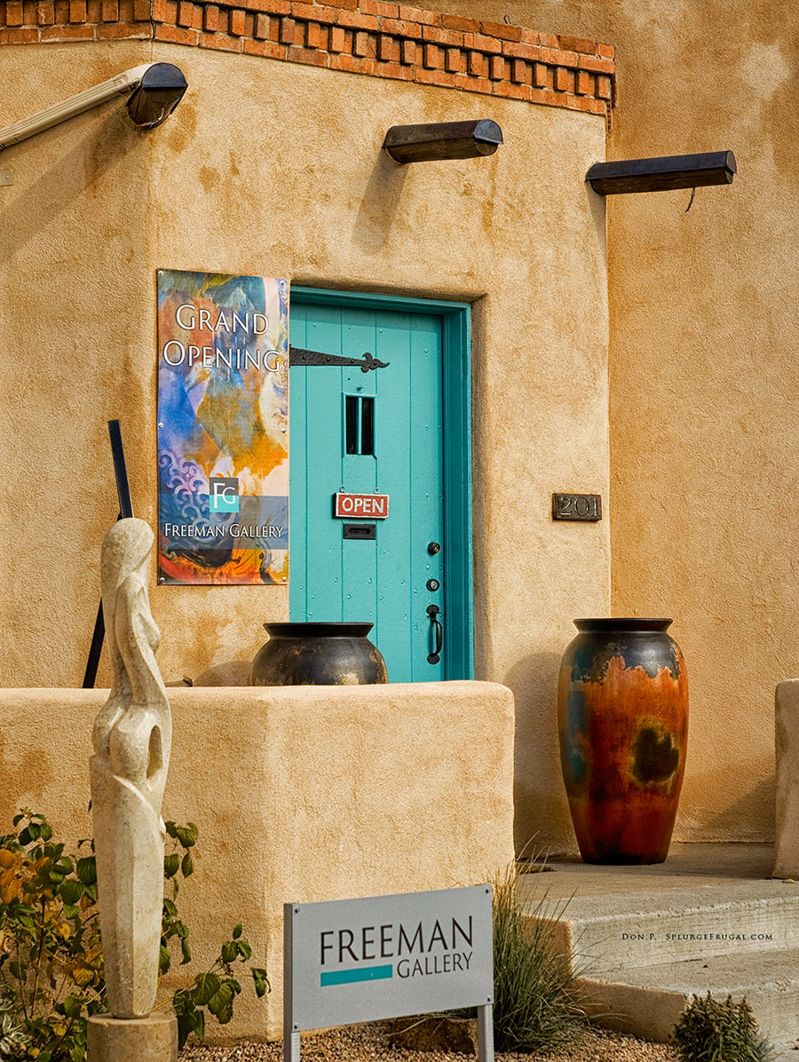 art gallery, Canyon Road, Santa Fe, New Mexico