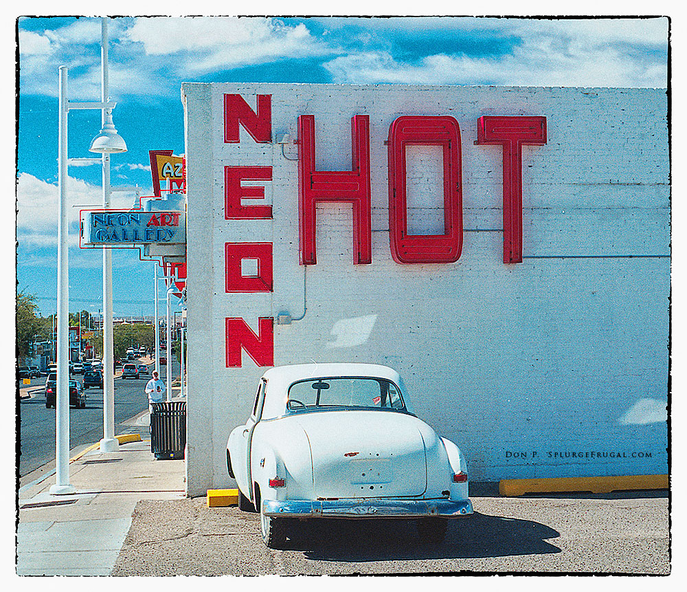 Neon Art Gallery, Old Route 66, Albuquerque, NM
