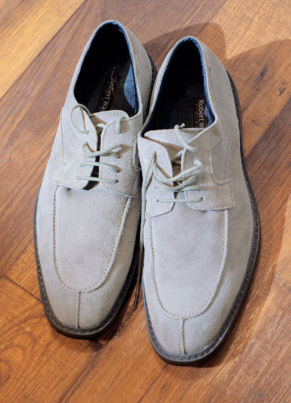 suede Thrift Shop Shoes