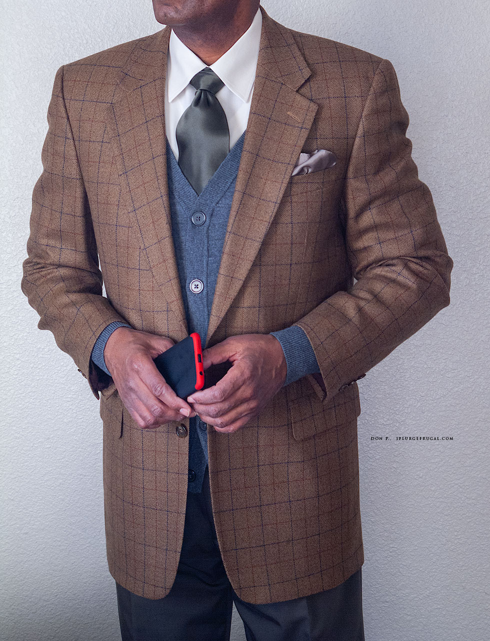 Stafford Suit Review - JCPenney - Sport Coat