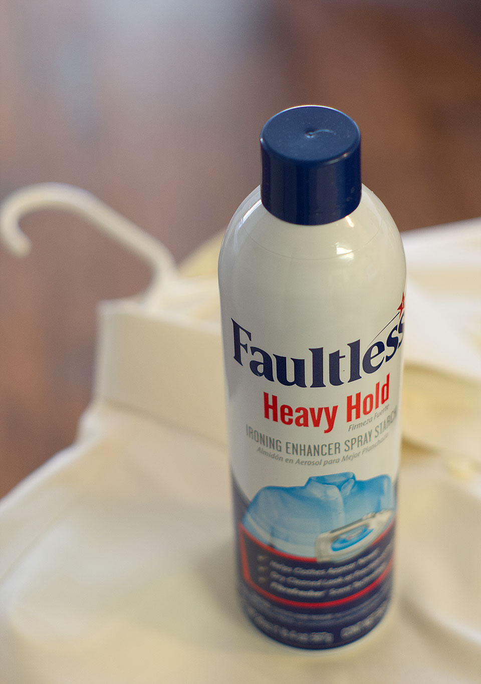 Faultless Heavy Hold Spray Starch Review