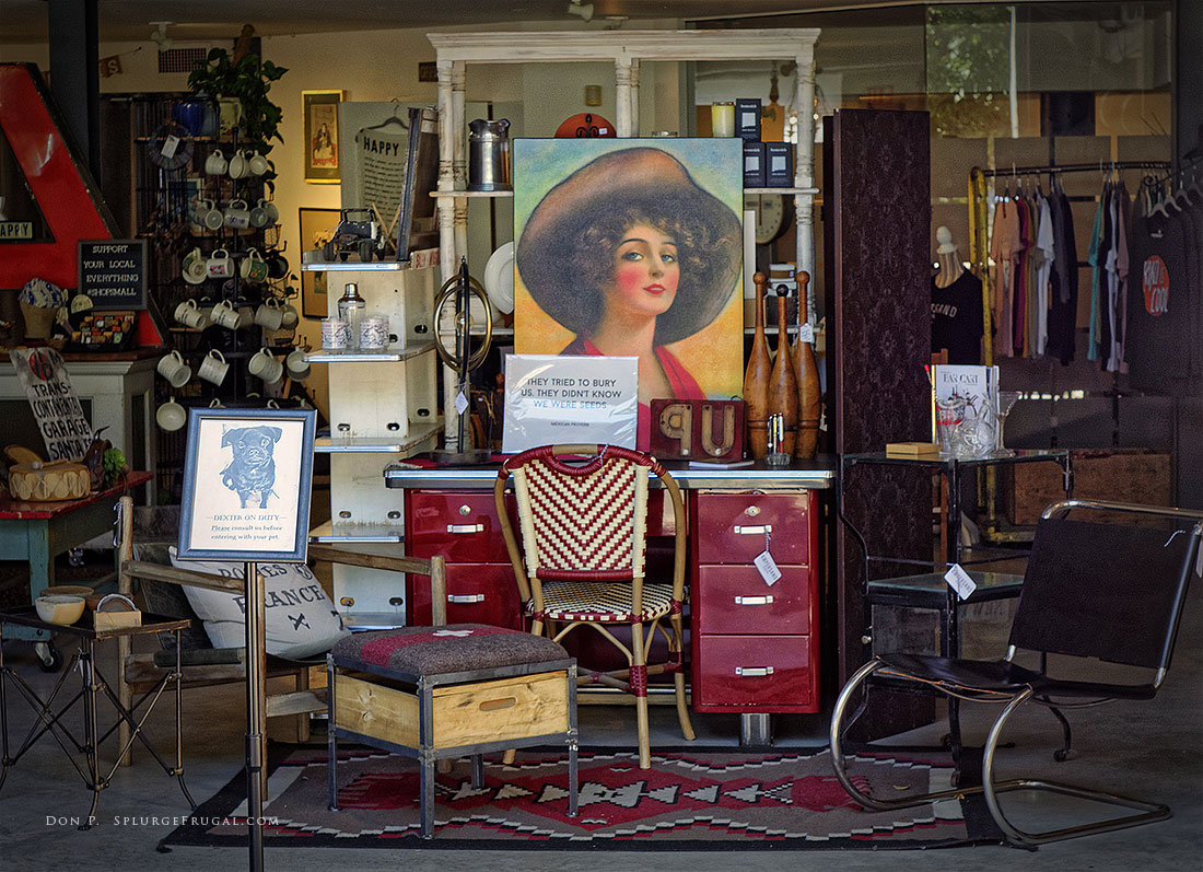 Antique Shop, Santa Fe, New Mexico