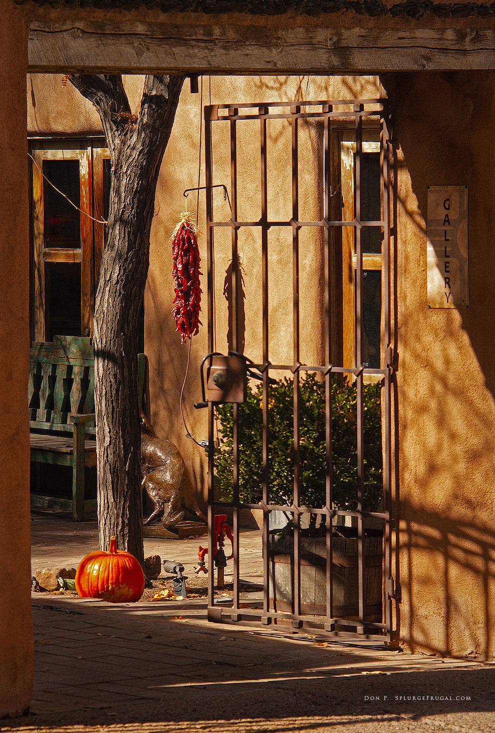 art gallery, Santa Fe, New Mexico