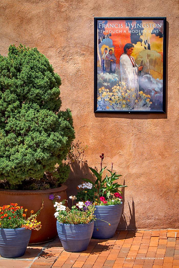 Canyon Road, Santa Fe, Art Gallery