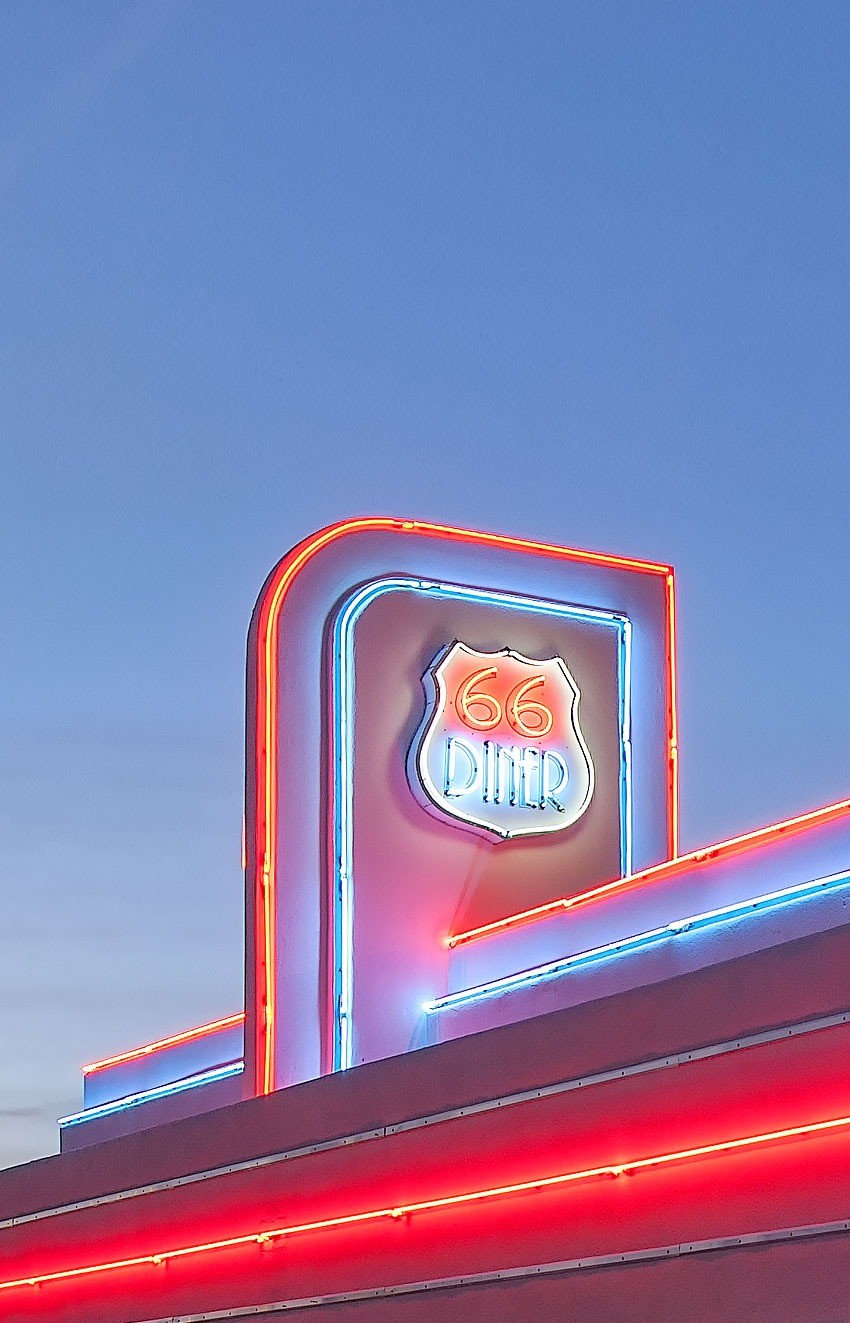 The Most Beautiful Route 66 Diner?