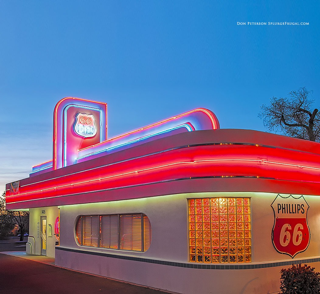 66 Diner, Route 66, Albuquerque, New Mexico