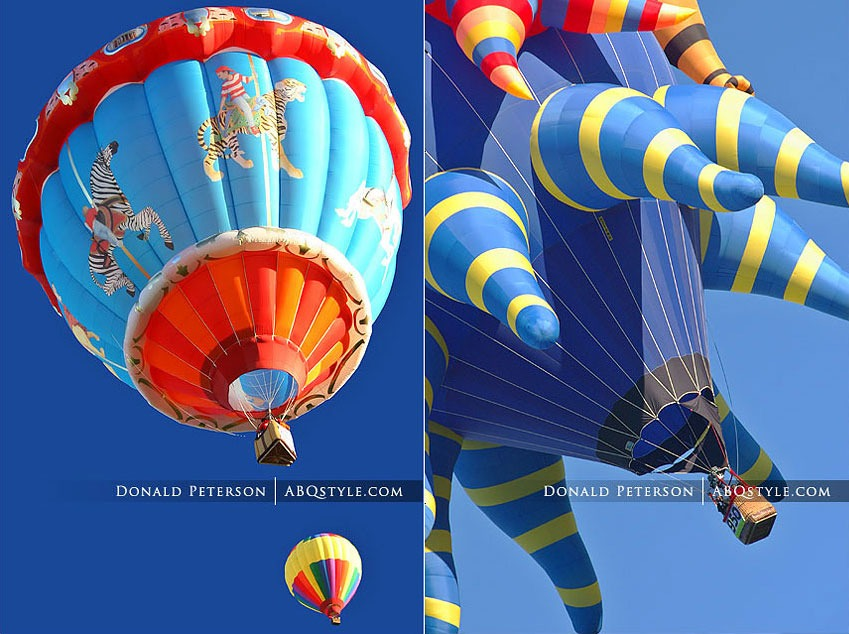 Photos of the Albuquerque Balloon Fiesta