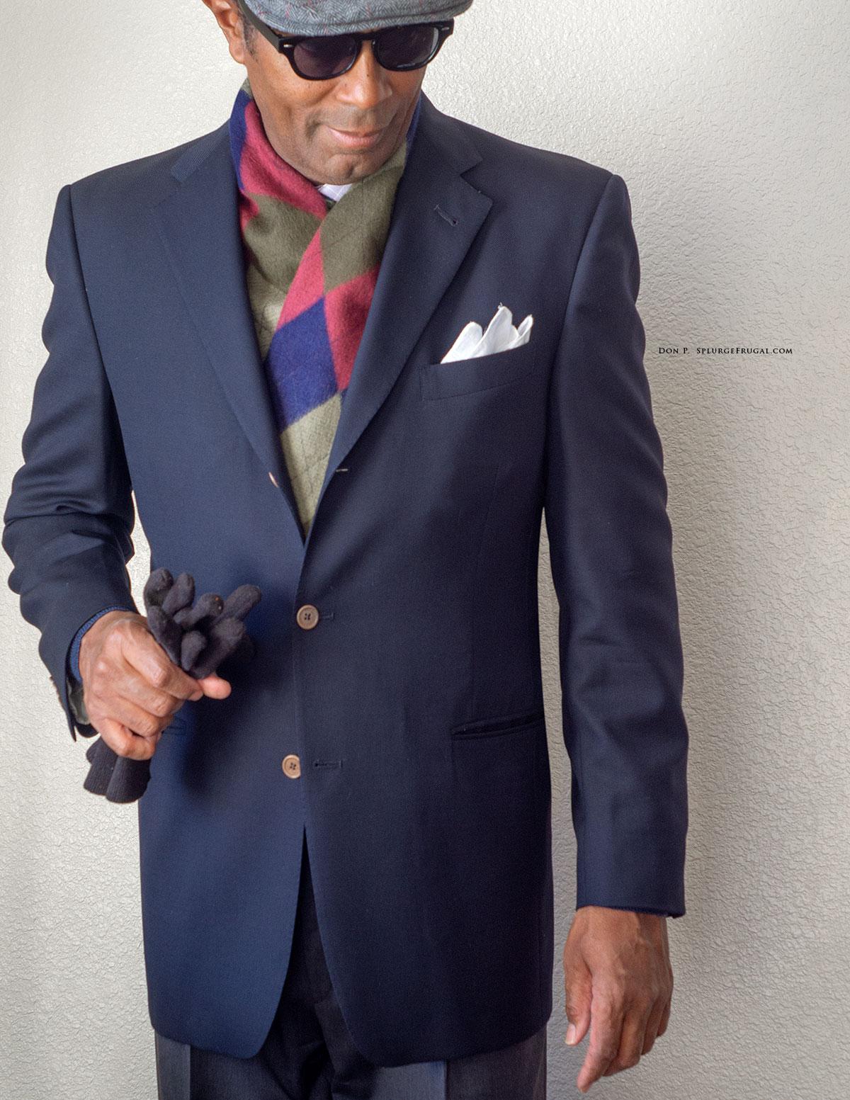 Daniel Cremieux Blue Blazer