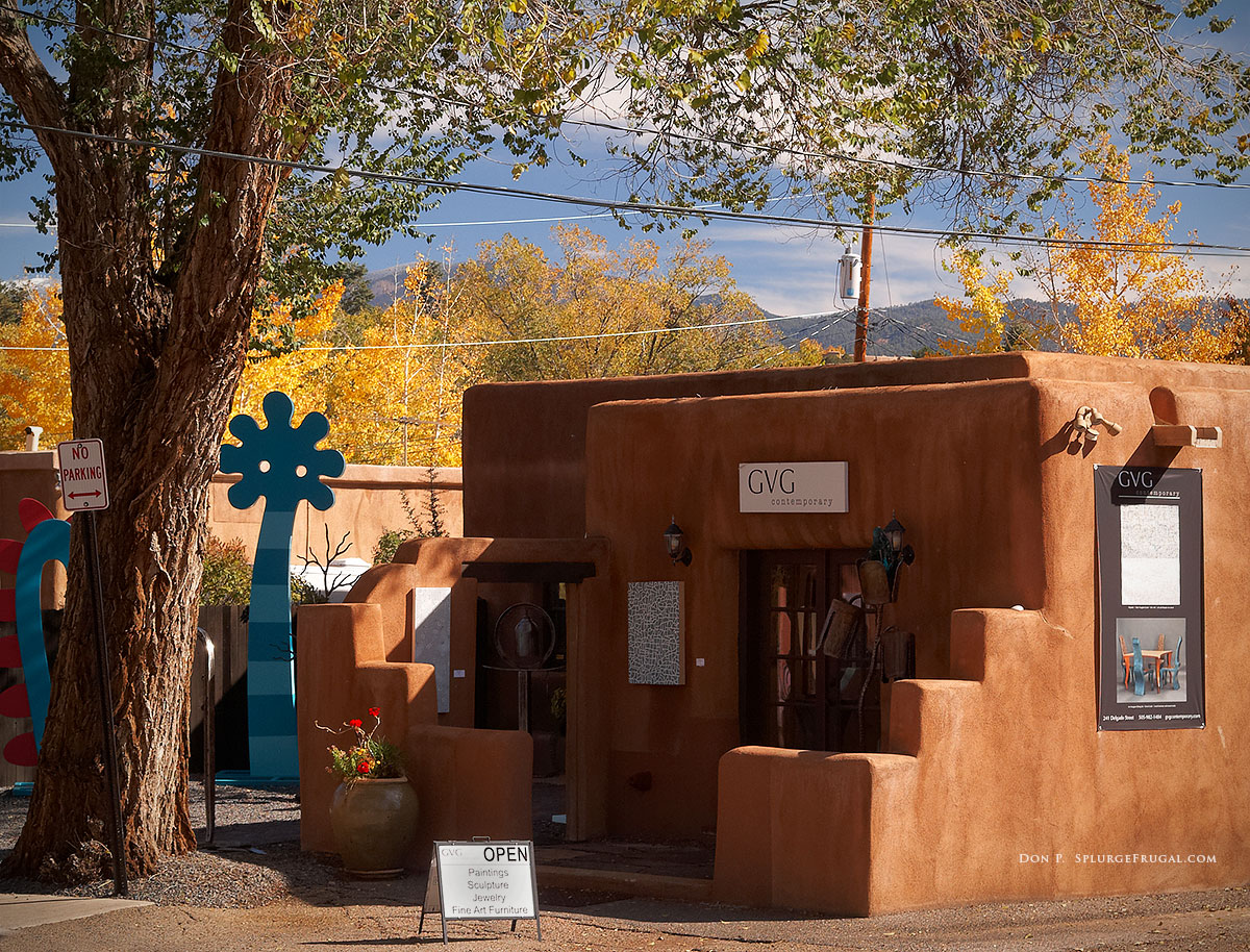 An Art Gallery In Santa Fe, New Mexico