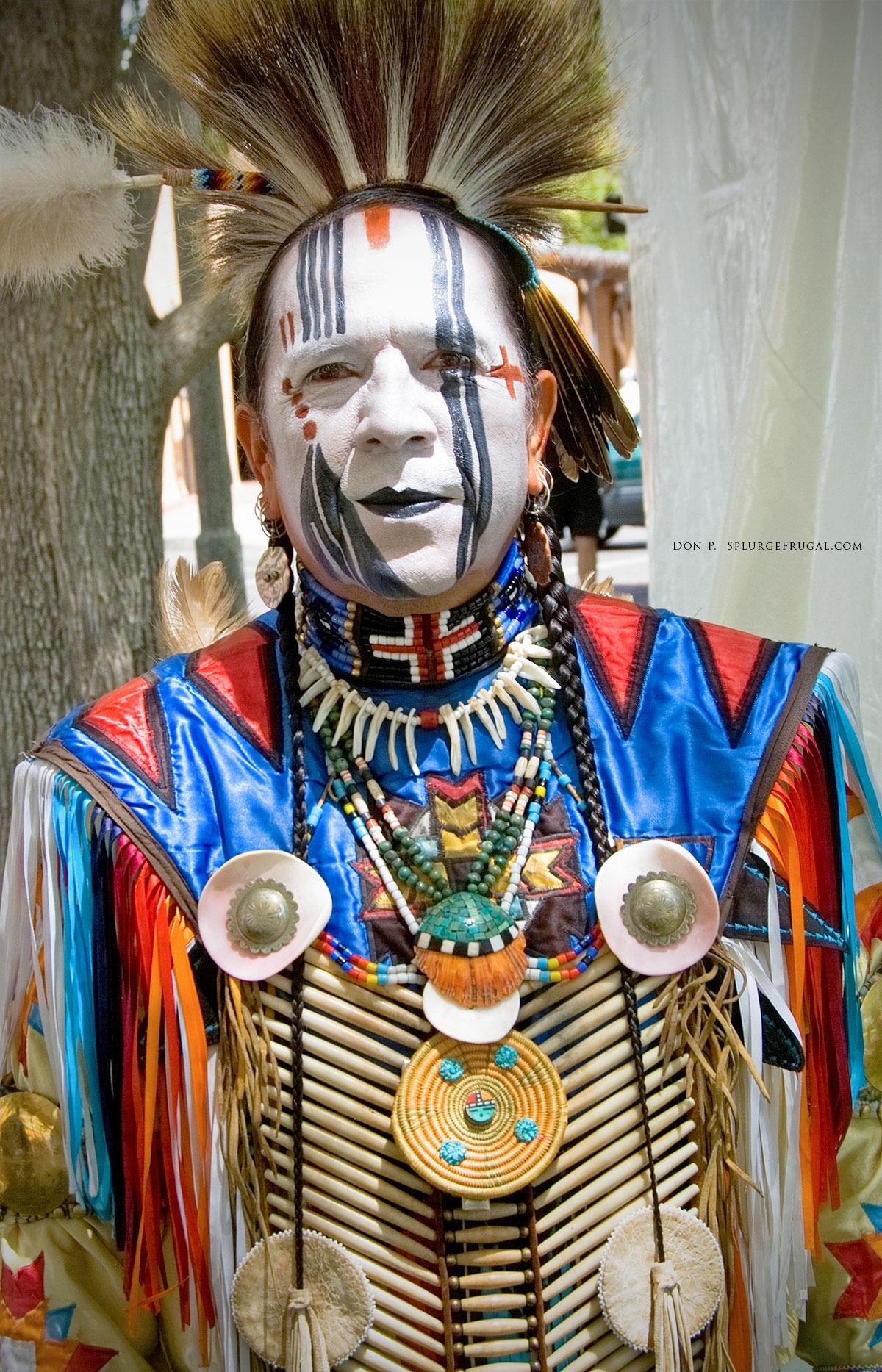 Native American performer, Albuquerque, New Mexico