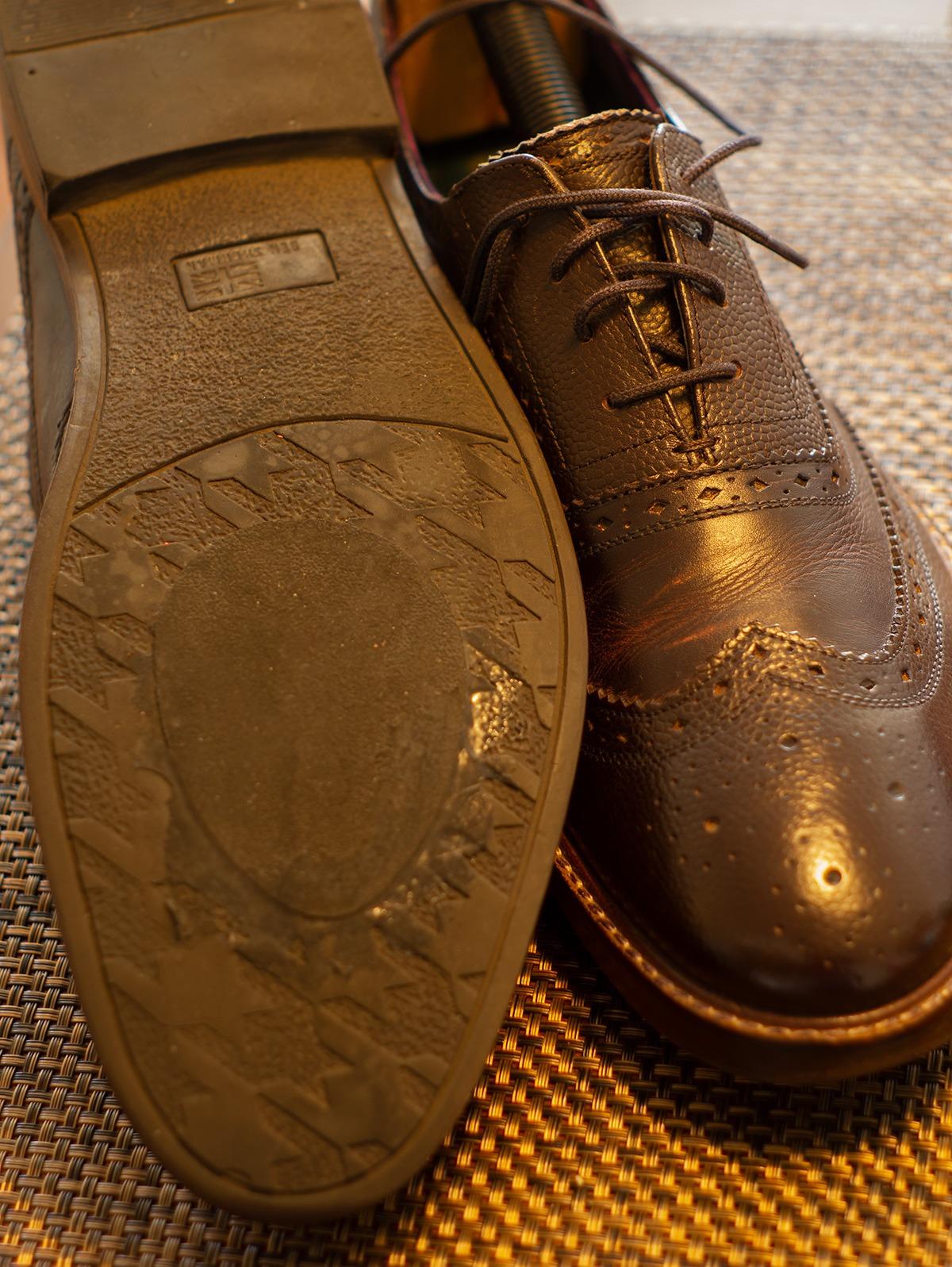 Make rubber soles last longer