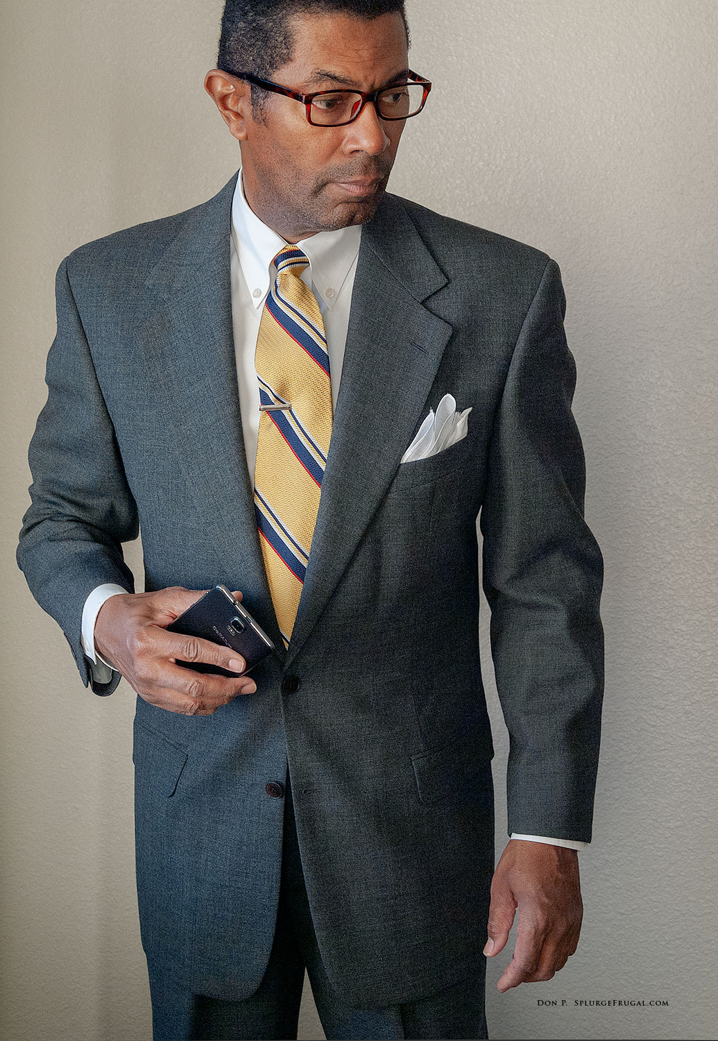 Thrift Shop Find: Grey Flannel Suit (Review)