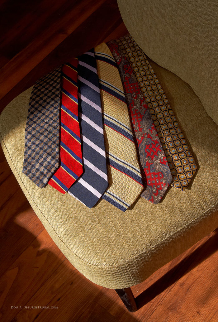 How To Thrift Shop for Men's Ties