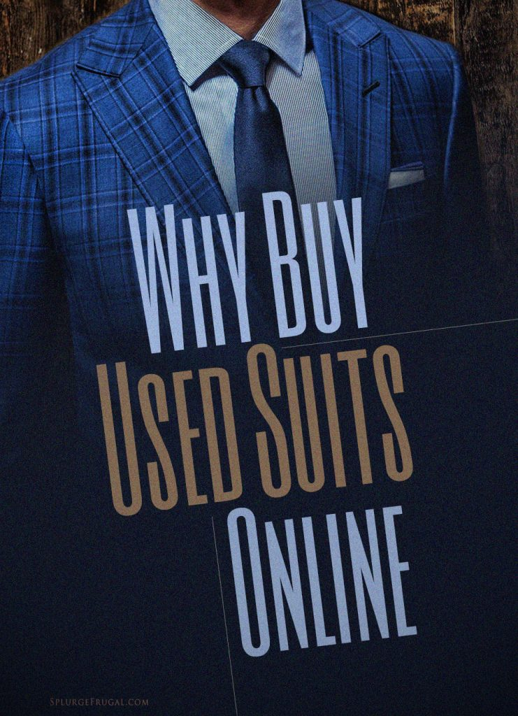 Why Buy Used Suits Online